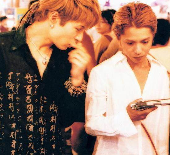 Hyde and Gackt in Moon Child