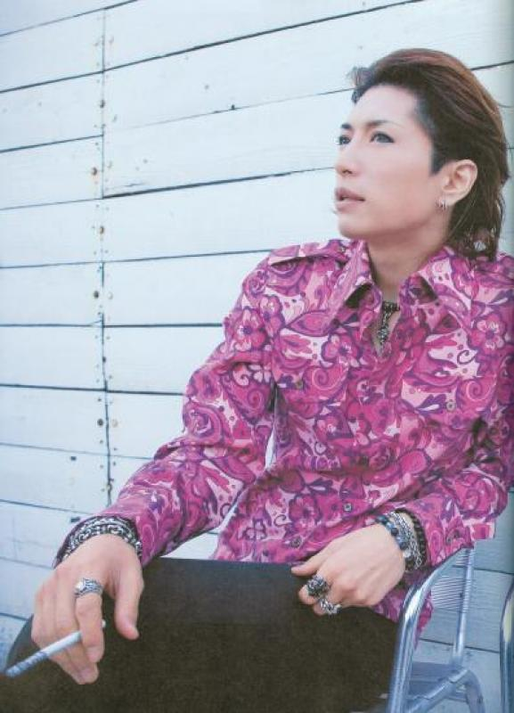 Gackt in pink