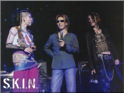 S.K.I.N : Miyavi, Yoshiki, SUGIZO