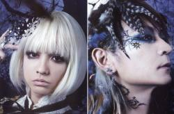 VAMPS (HYDE & K.A.Z) @ HALLOWEEN PARTY 2010